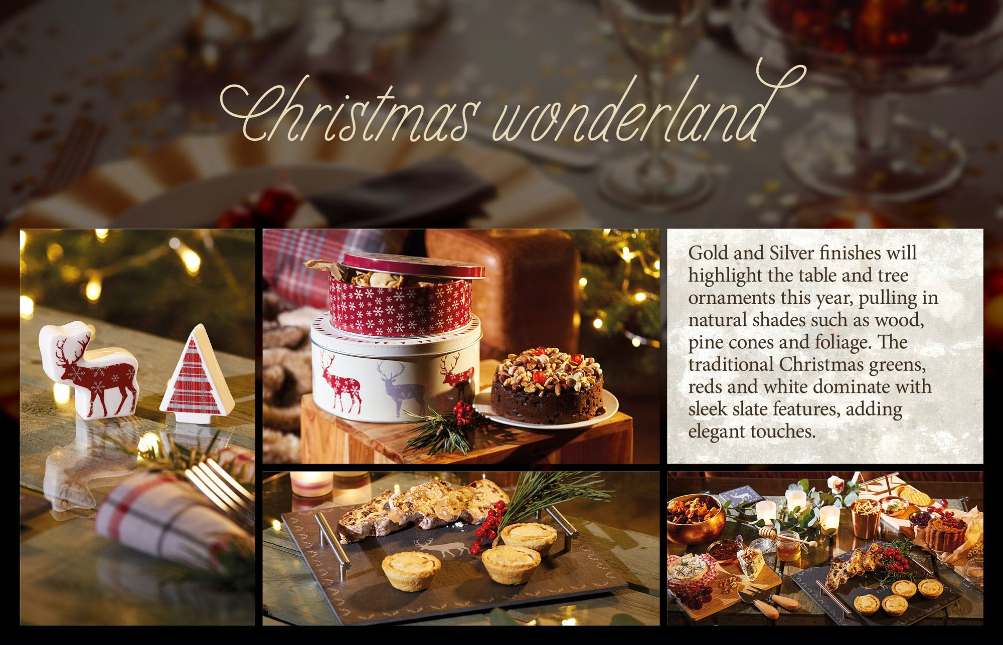 Make your festive setting stand out!