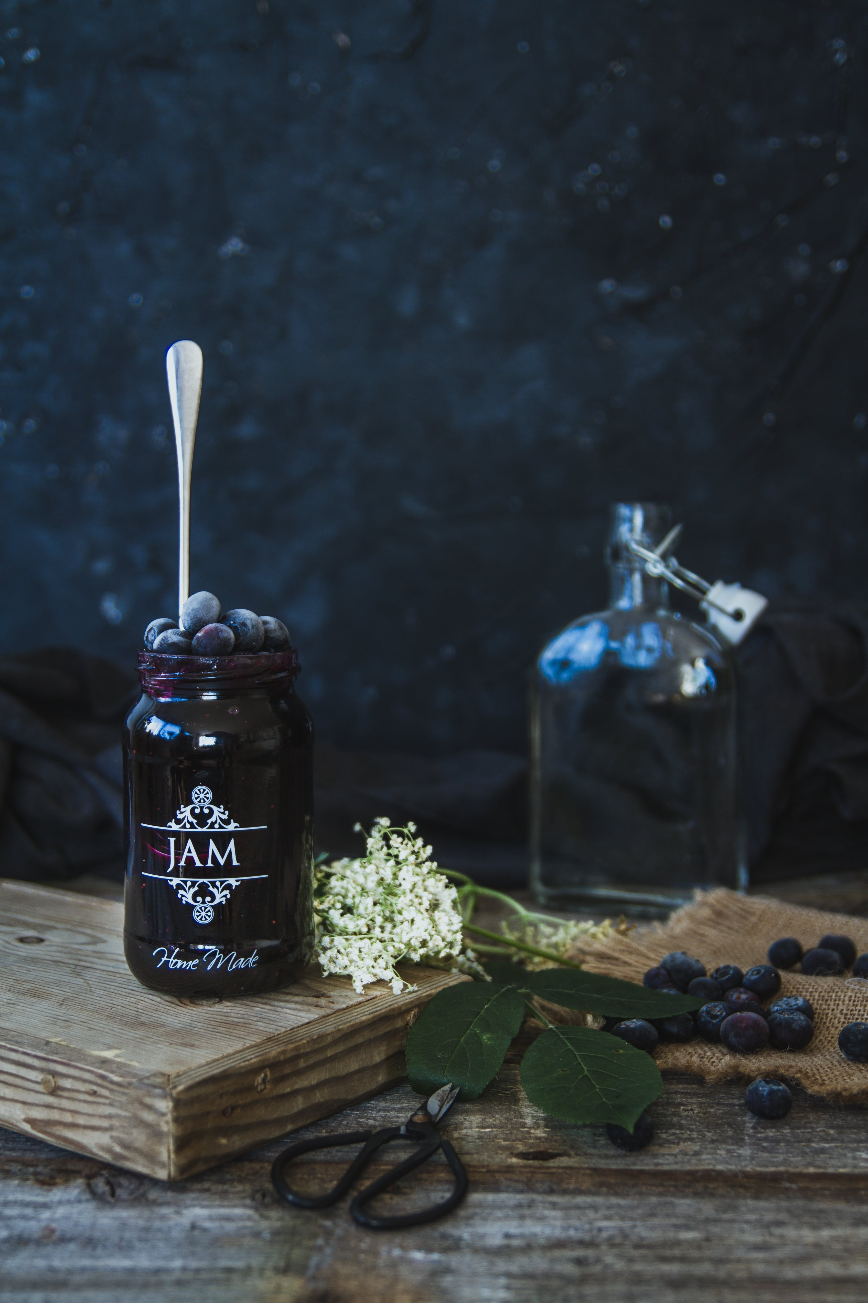 Blueberry, Elderflower and Gin Jam