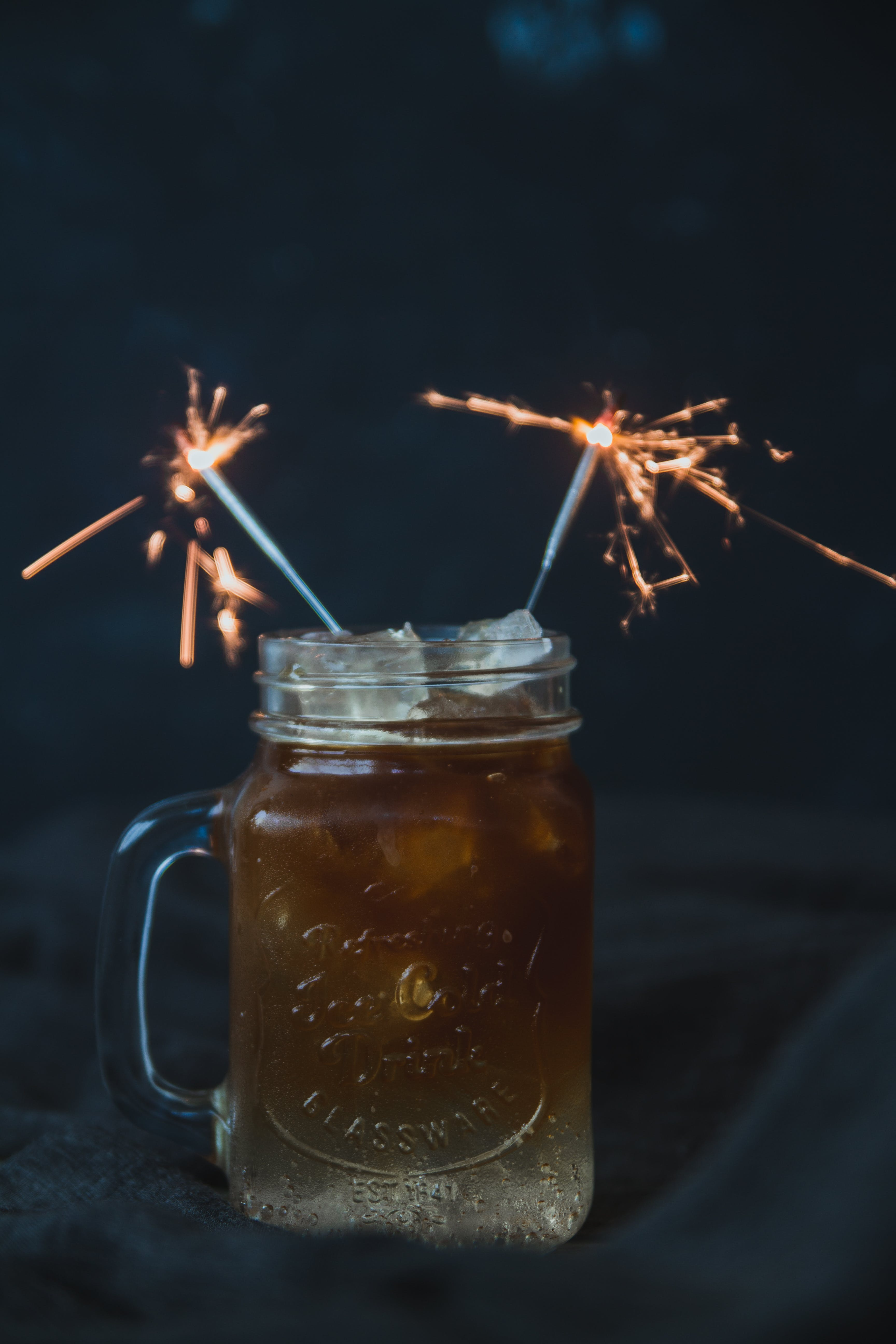 Bonfire Cold Brew Coffee and Tonic