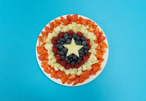 Captain America Fruit Shield