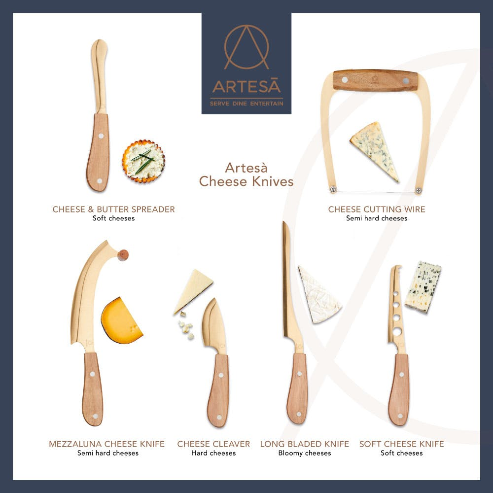 Cheese Knife Guide