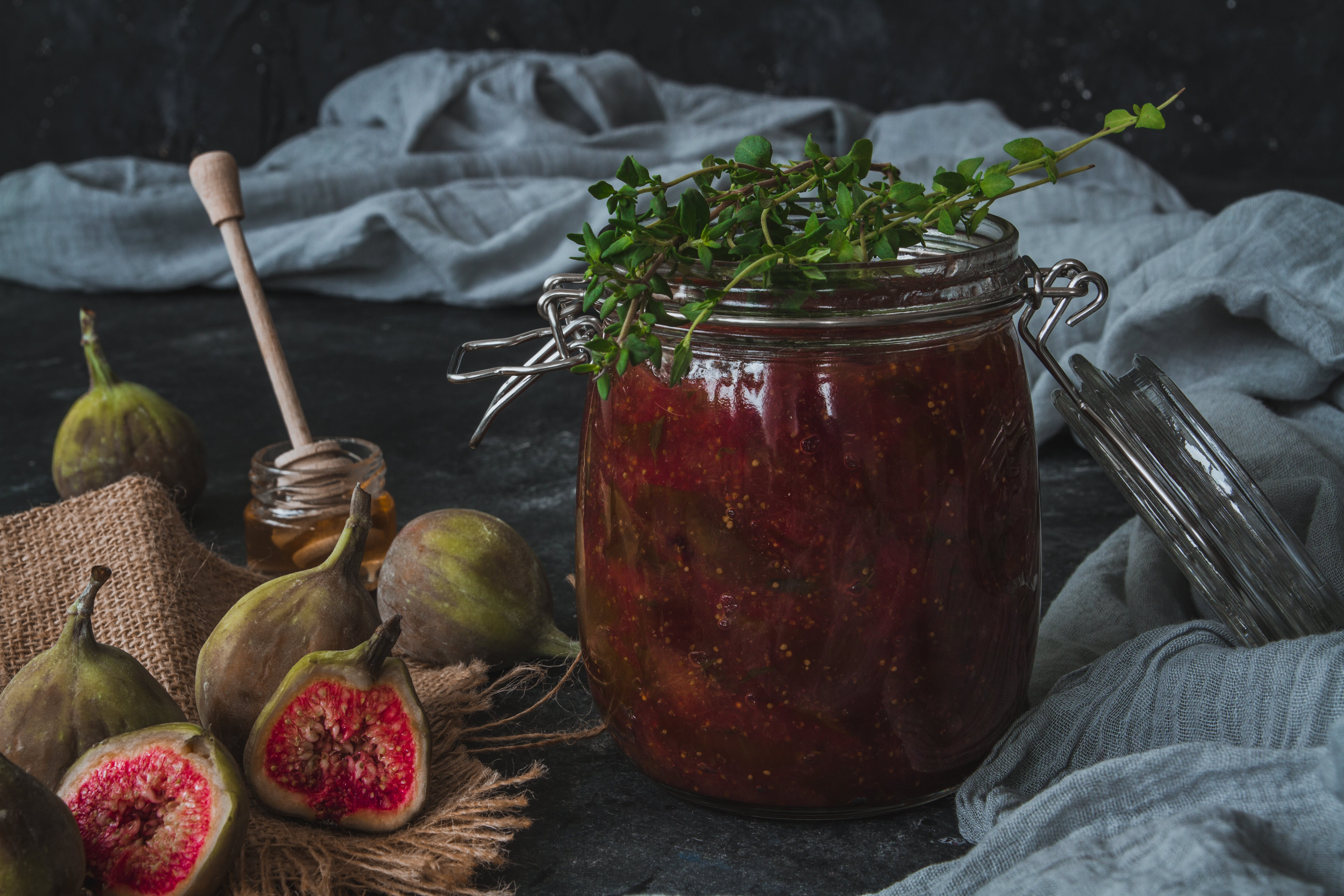 Fig, Honey and Thyme Jam