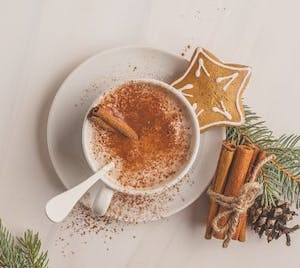 Gingerbread Hot Chocolate