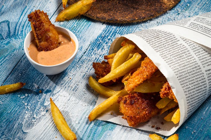 Hake and Chips: A Twist on a British Classic