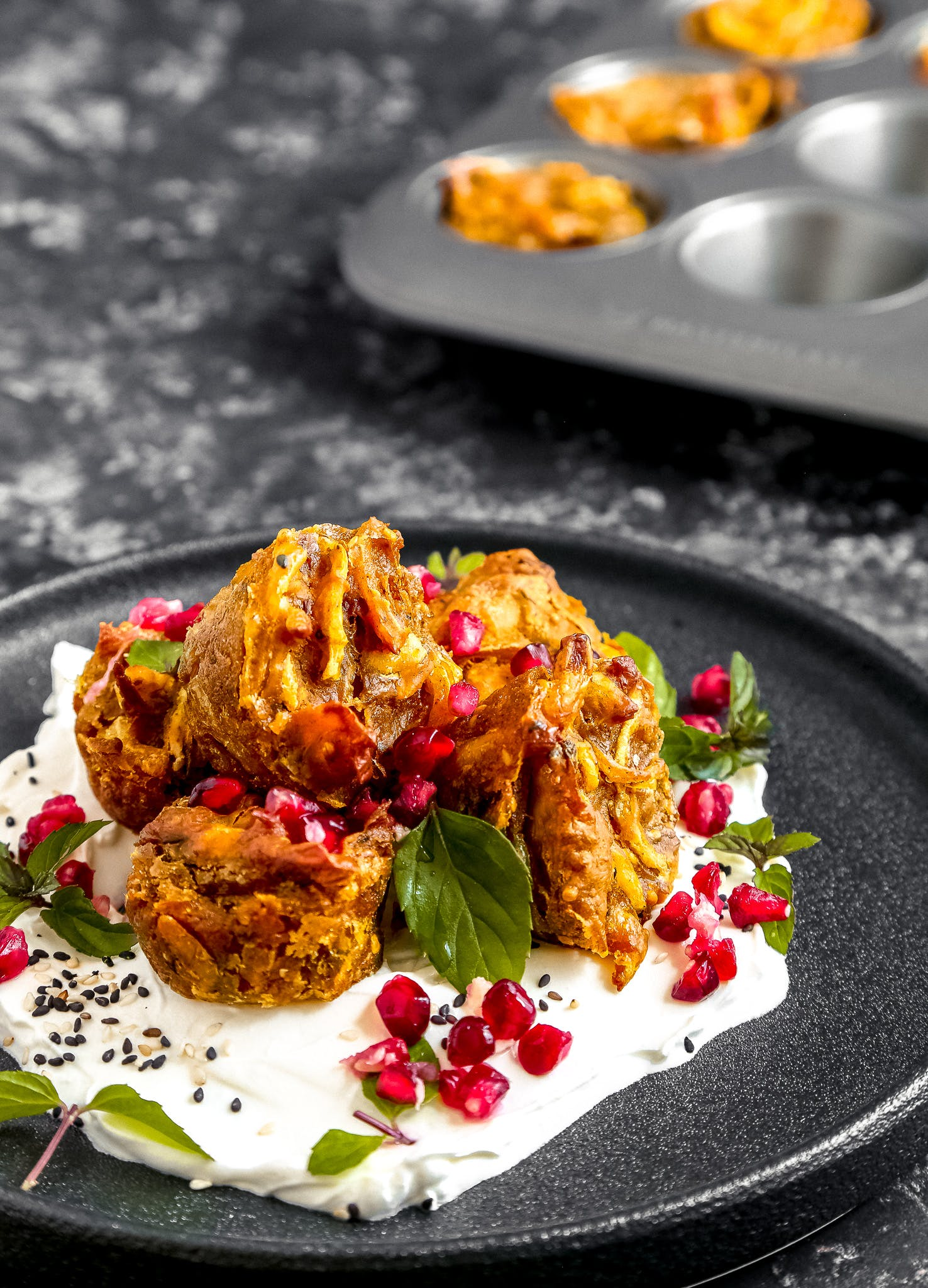 Pumpkin and Onion Bhaji