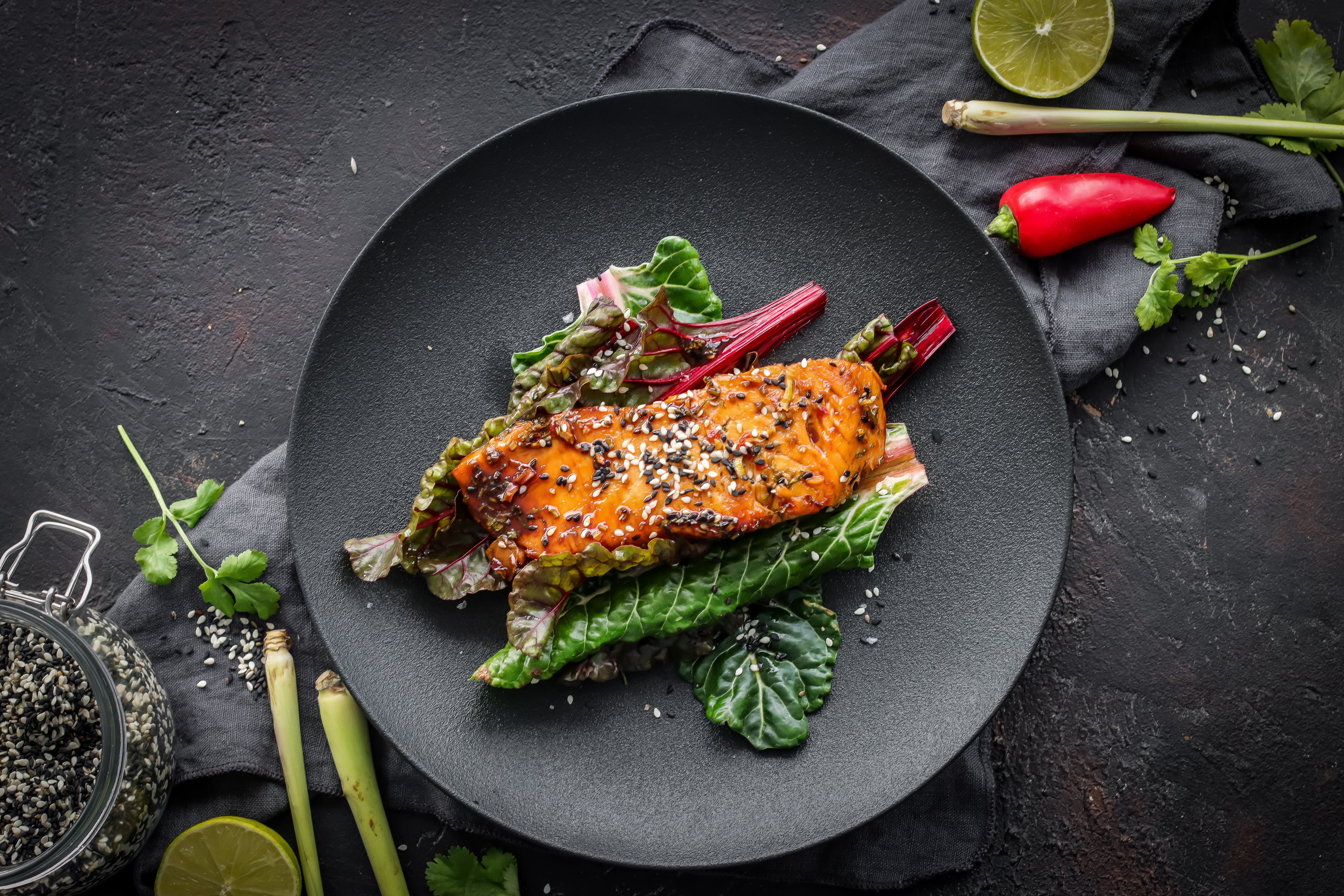 Caramelised Thai Salmon