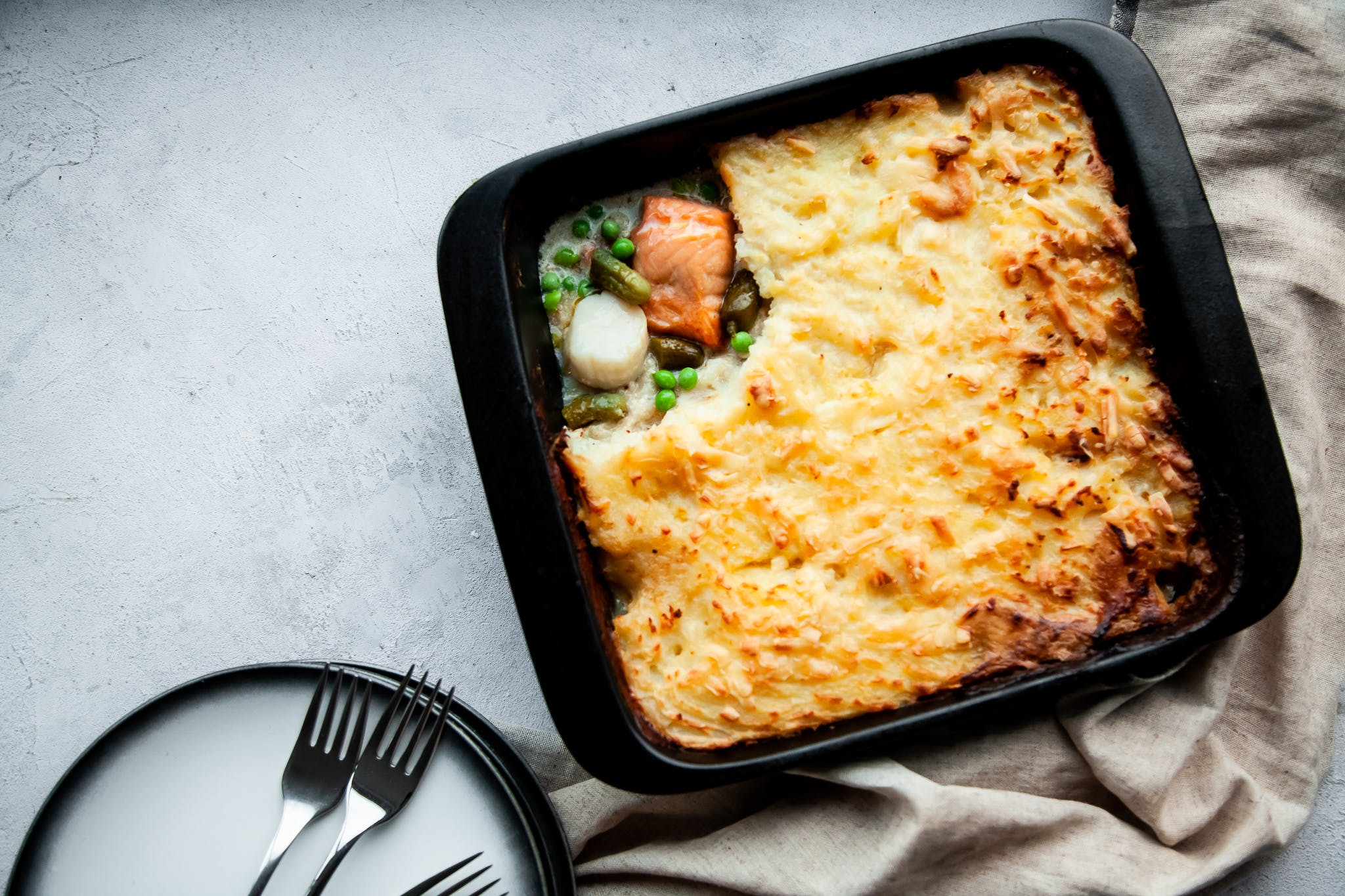 Salmon & Scallop Fish Pie