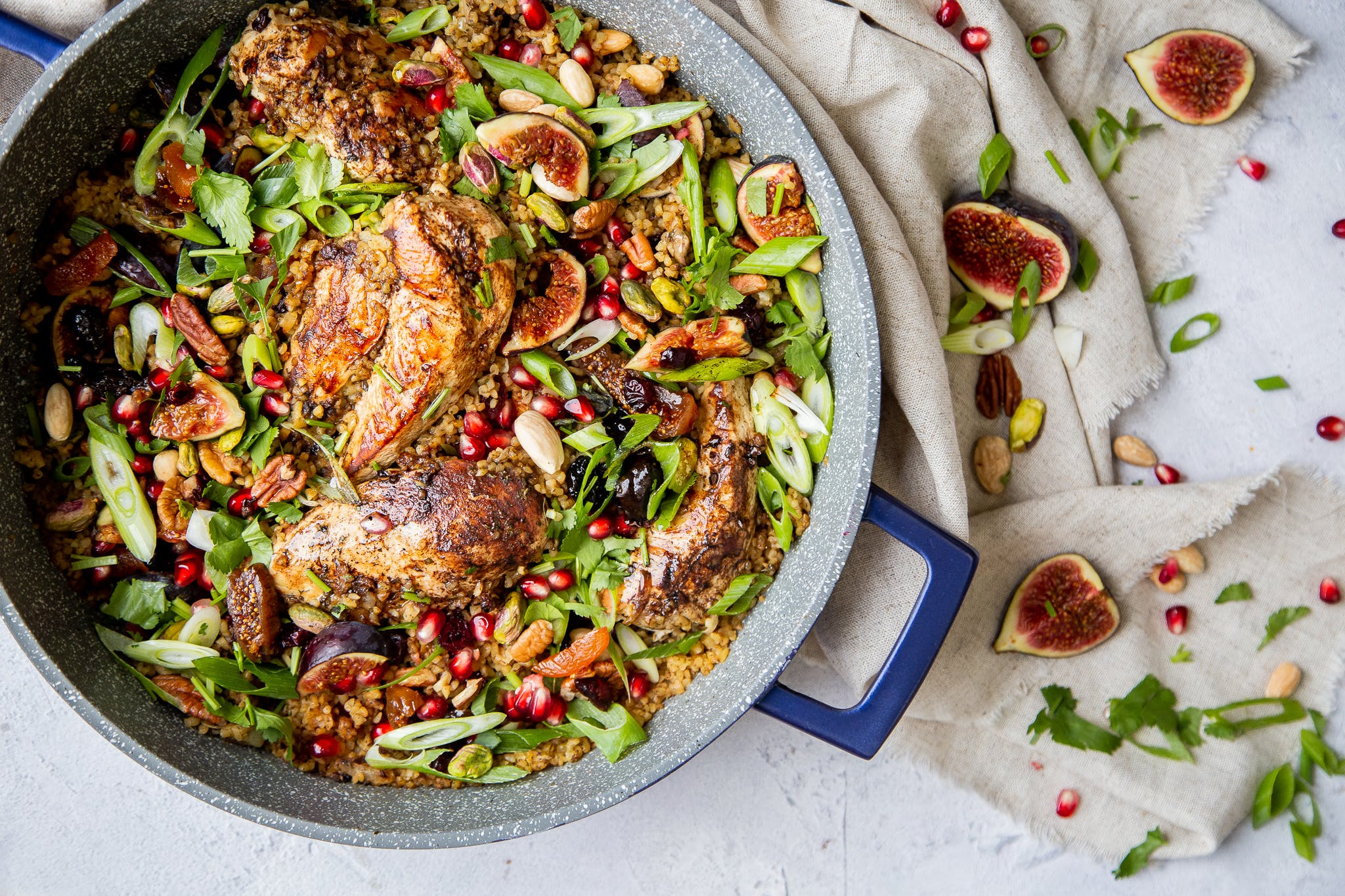 Healthy Moroccan Chicken