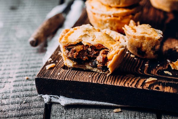 Beef and Stilton Mini Pies