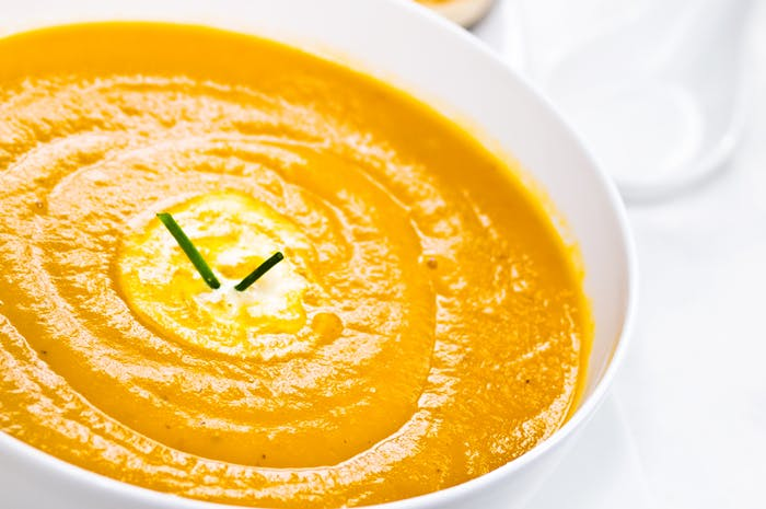 Winter Warming Spicy Roasted Parsnip Soup