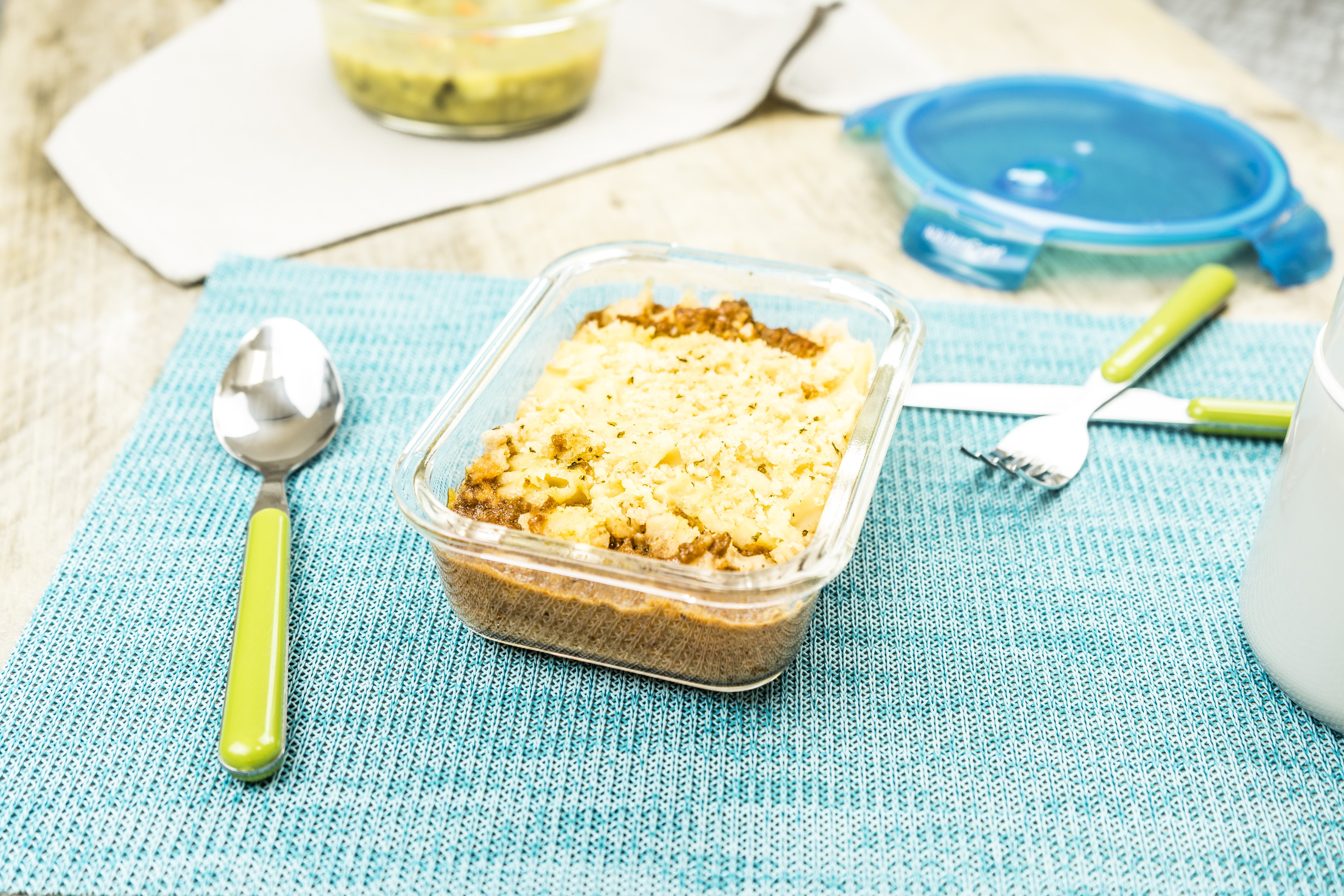 Shepherd's Pie with Parmesan and Herb Crumb