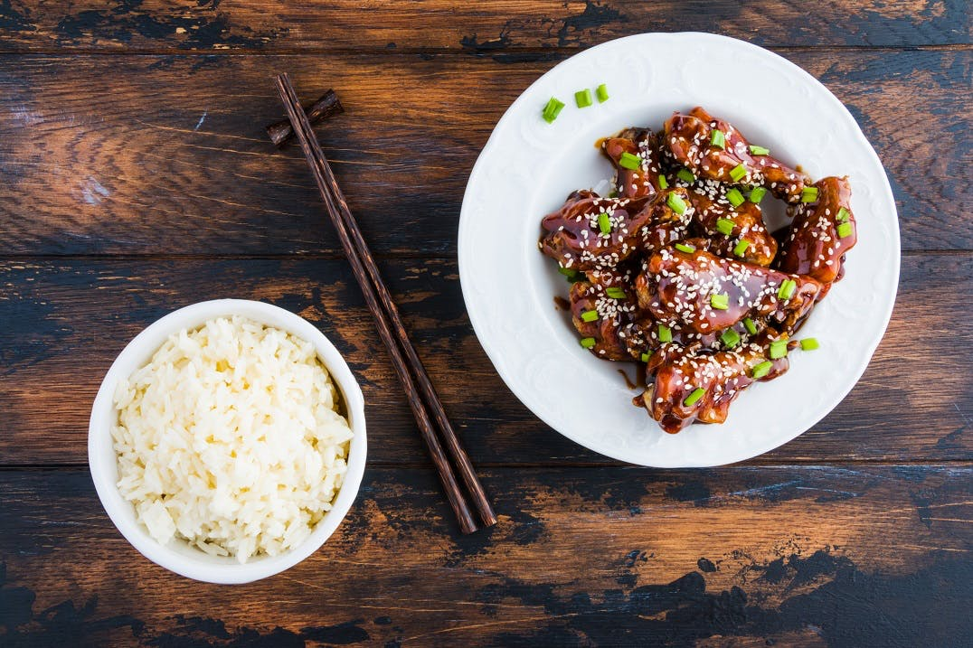 Sticky Chinese Chicken Tray Bake