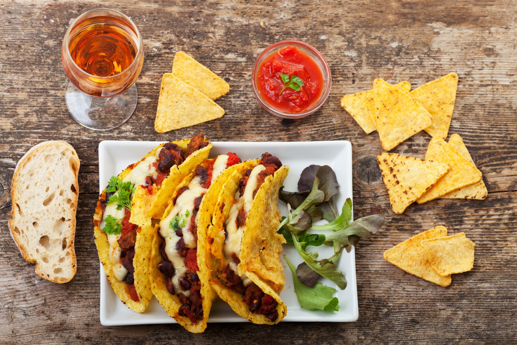 Up your lunch game with tasty tacos!