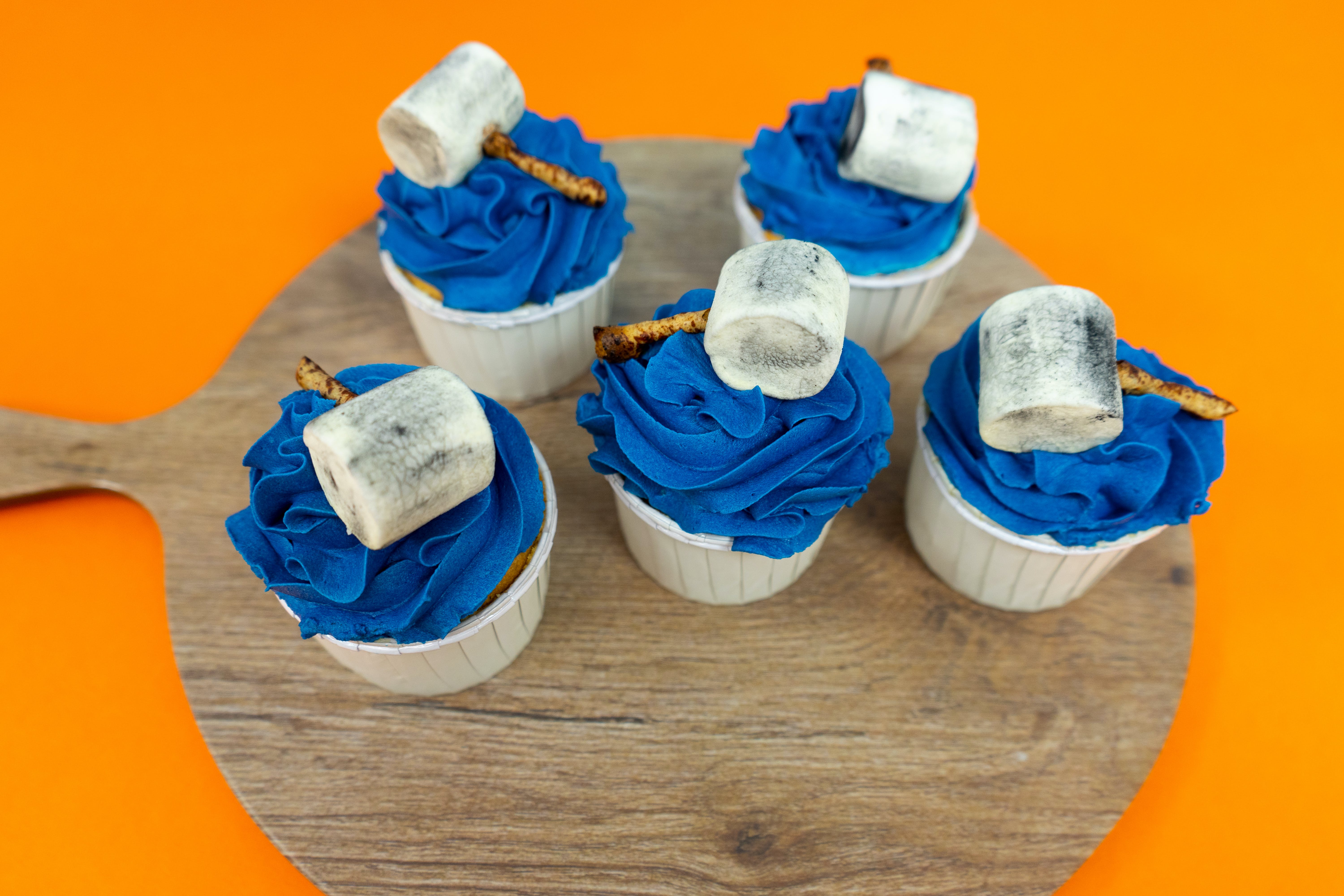The Mighty Thor Cupcakes
