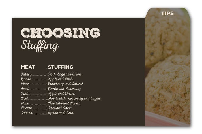 Choosing your stuffing