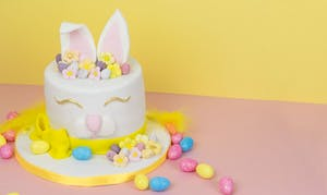 Chocolate Bunny Easter Cake