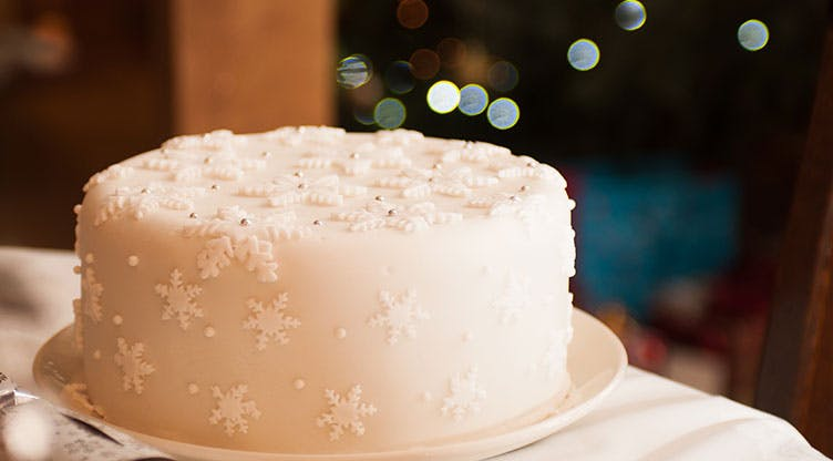 Christmas Cake with a twist…