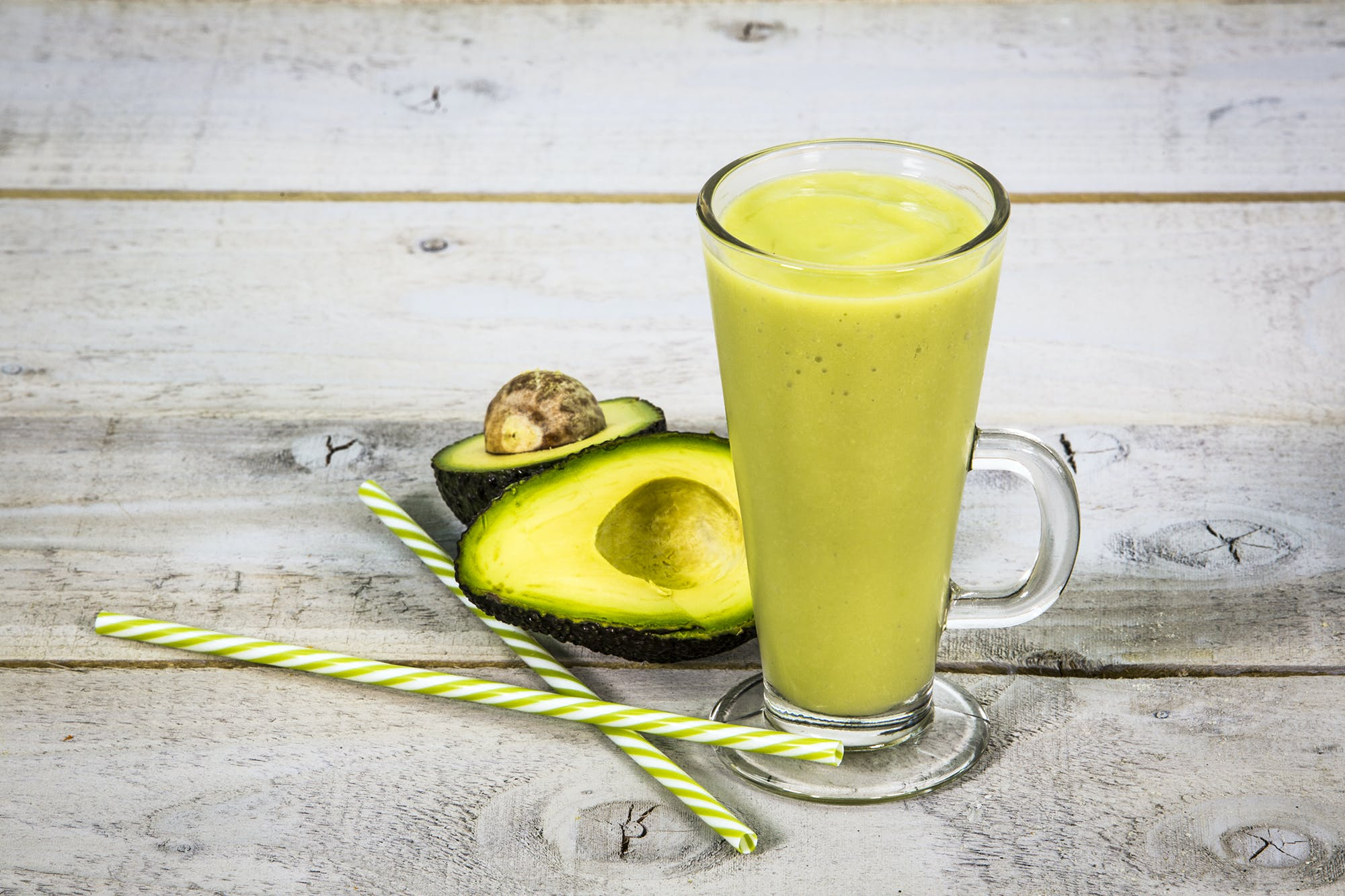 Avocado and Vanilla Smoothie
