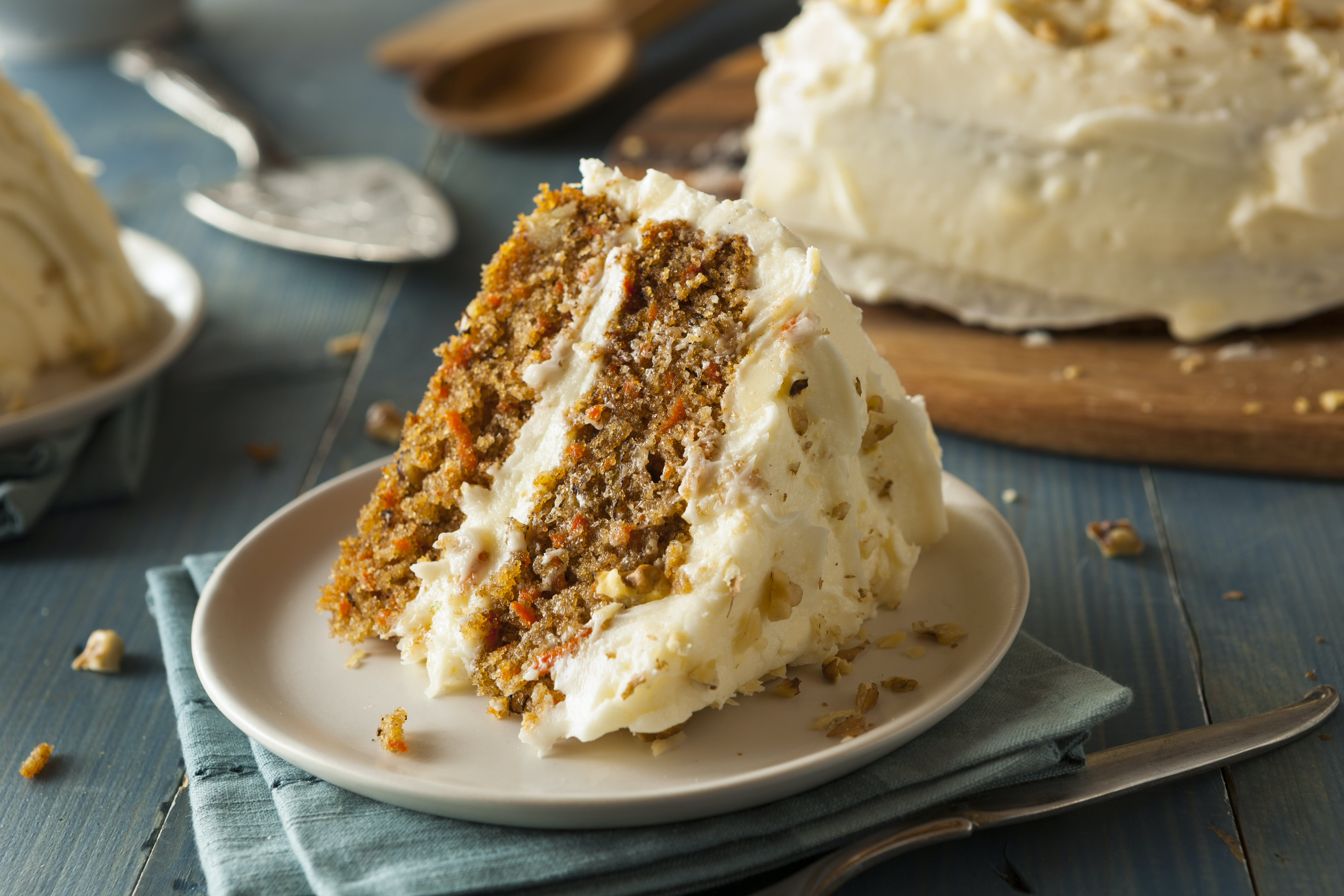 Chai Spiced Carrot Cake