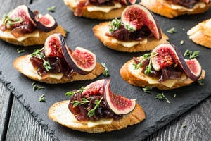 Fig and Red Onion Crostini