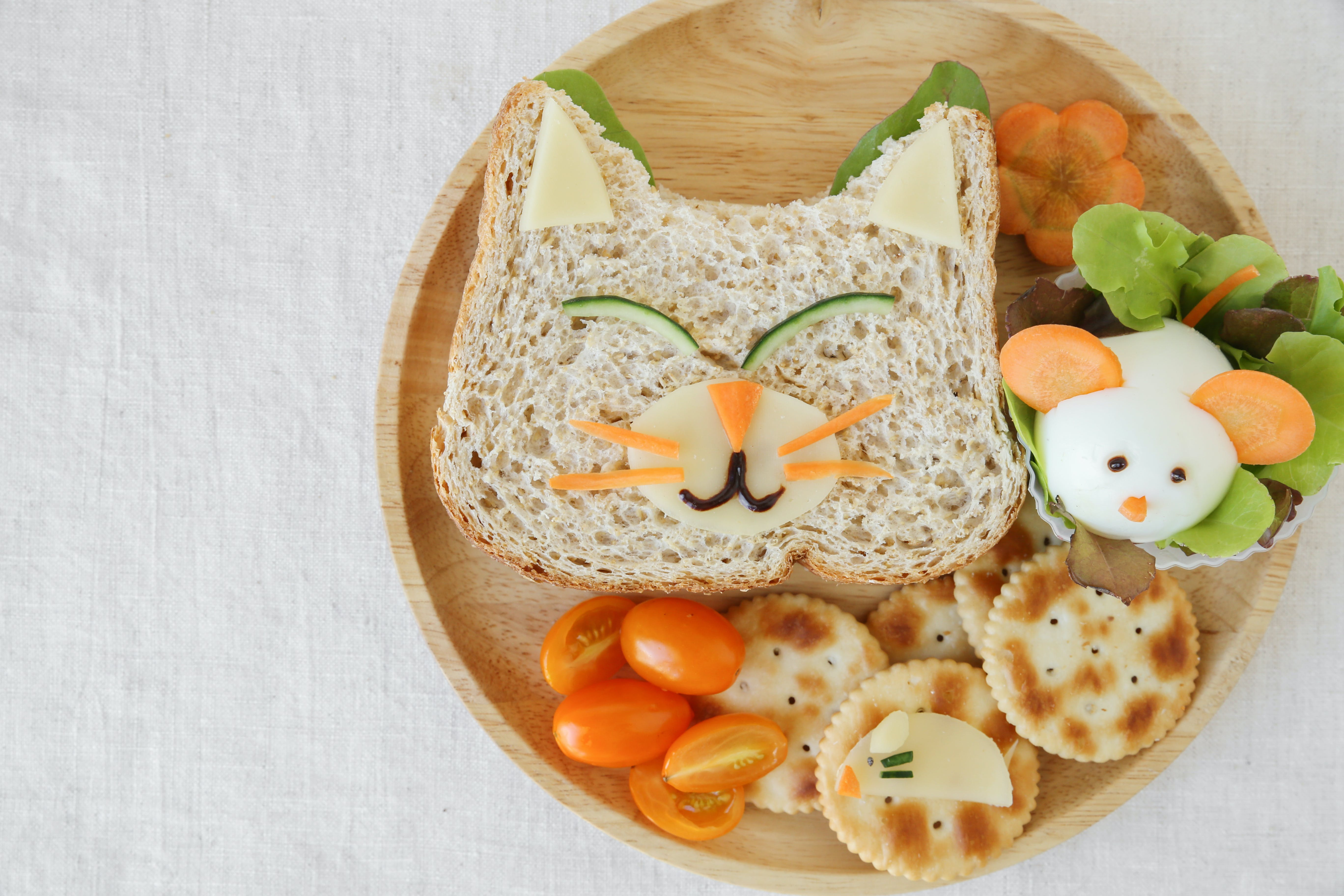 Fun Lunch Sandwiches