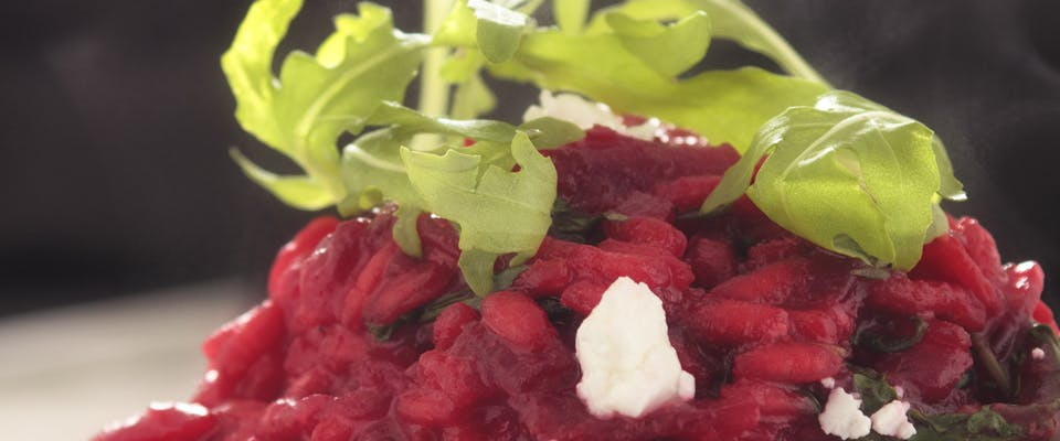Bold and Beautiful: Beetroot Risotto