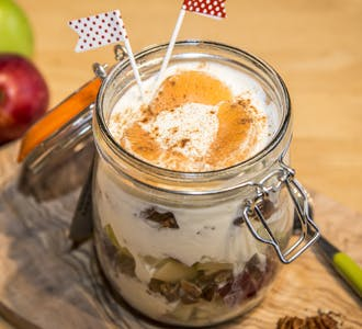 Apple, Walnut and Cinnamon Dessert Jar