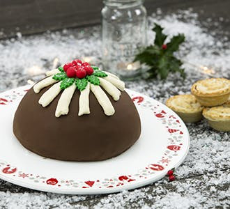 Christmas Pudding Chocolate Cake