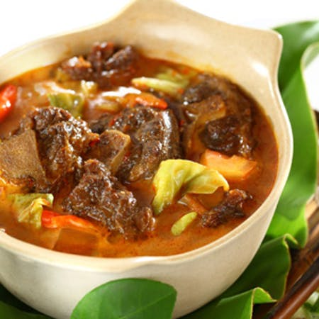Goat Stew with Cabbage and Peanut Butter