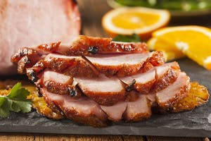 Marmalade and Ginger Glazed Gammon
