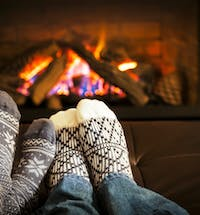 Cosy evenings by the fire are the best! #welovechristmas