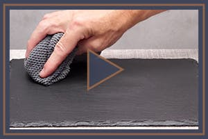 How to keep slate looking pristine