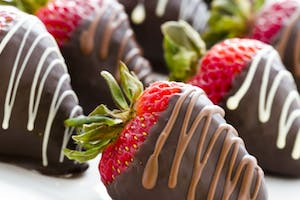 Double Chocolate Dipped Strawberries