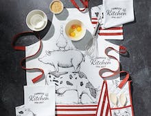 Oven Gloves, Tea Towels & Aprons