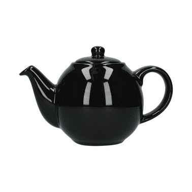 London Pottery Globe® 6 Cup Teapot Gloss Black