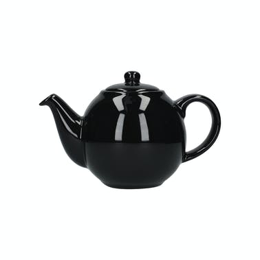 London Pottery Globe® 4 Cup Teapot Gloss Black