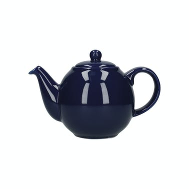 London Pottery Globe 4 Cup Teapot Cobalt Blue