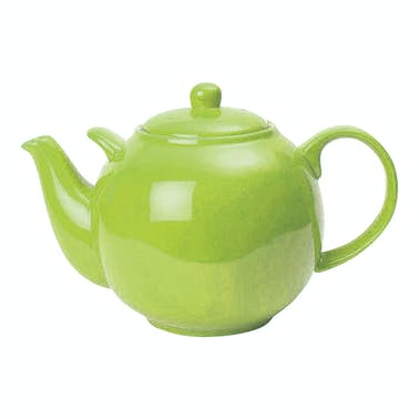 London Pottery Globe® 10 Cup Teapot Greenery