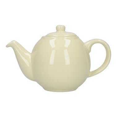 London Pottery Globe® 10 Cup Teapot Ivory