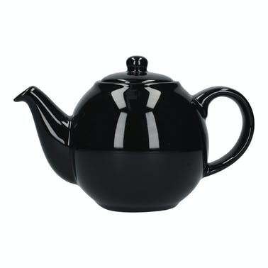 London Pottery Globe® 10 Cup Teapot Gloss Black