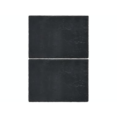 Creative Tops Naturals Pack Of 2 Slate Placemats