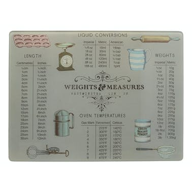 Creative Tops Weight And Measurement Work Surface Protector