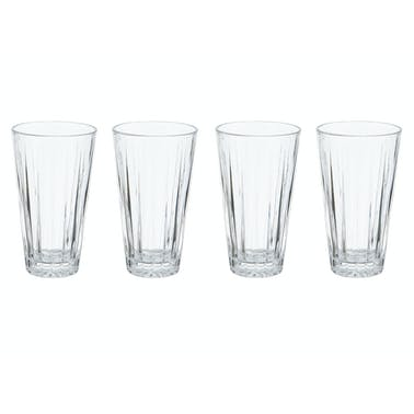 Mikasa Revel Set Of 4 14.5Oz High Ball Glasses