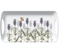Kew Gardens Lavender Small Luxury Handled Tray