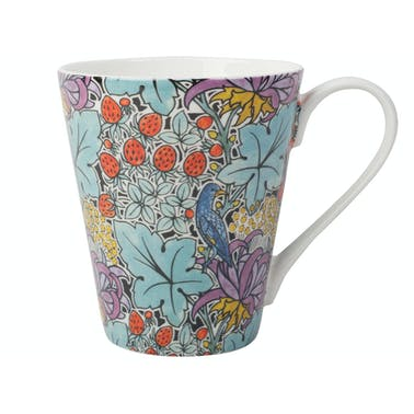 Victoria and Albert Voysey Bird And Strawberry Mug In A Box