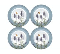 Kew Gardens Lavender Set Of 4 Side Plates