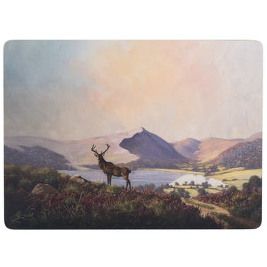 Creative Tops Highland Stag Pack Of 4 Large Premium Placemats