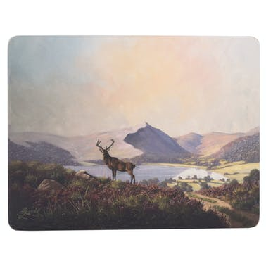 Creative Tops Highland Stag Pack Of 6 Premium Placemats