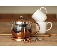 La Cafetiere Origins Two Cup Le Teapot Copper