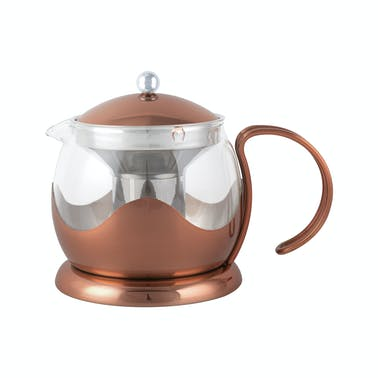 La Cafetiere Origins Four Cup Le Teapot Copper